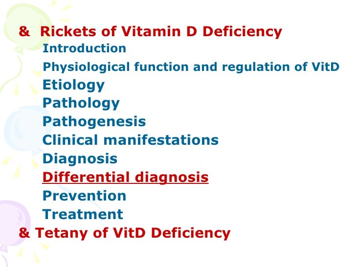 rickets vitamin d and mayo clinic Rickets: vitamin d and mayo clinic staff essay 2175 words | 9 pages more about vitamin d and nutritional rickets the truth about vitamin d deficiency essay.