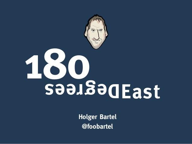 Holger Bartel @foobartel