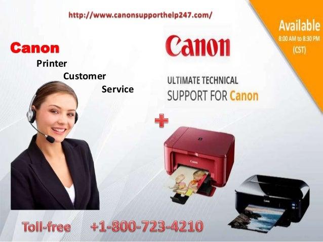 Canon Printer Customer Service