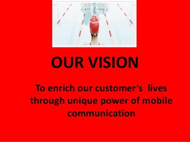 The Vodafone Eye-sight And Values Capabilities