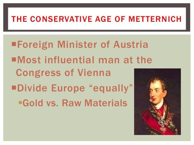 age of metternich