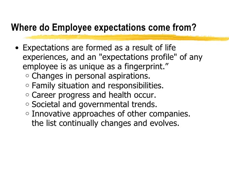 EmployeeExpectation
