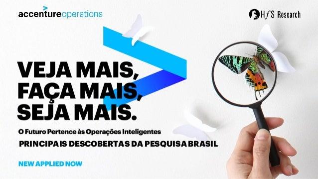 PRINCIPAIS DESCOBERTAS DA PESQUISA BRASIL