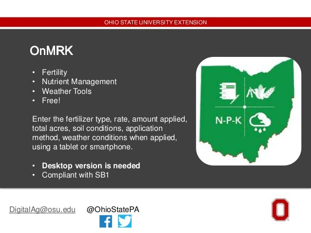 Kaylee Port - Apps To Support Nutrient Management For Crop Production