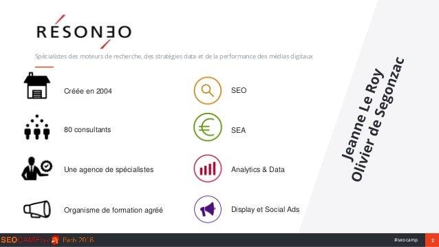 Content marketing : quelles stratégies pour le SEO en 2018 ? Slide 2