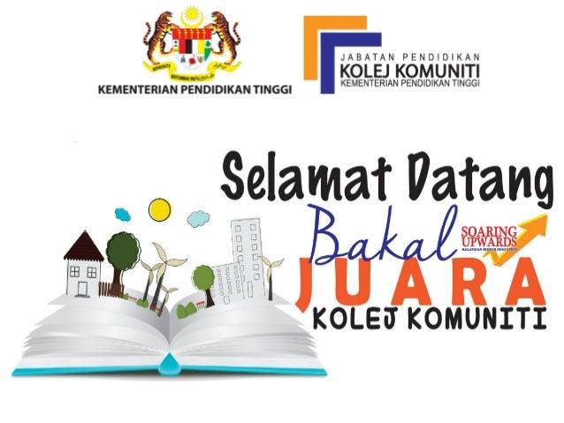 Pengambilan Pelajar Kolej Komuniti Malaysia 2016