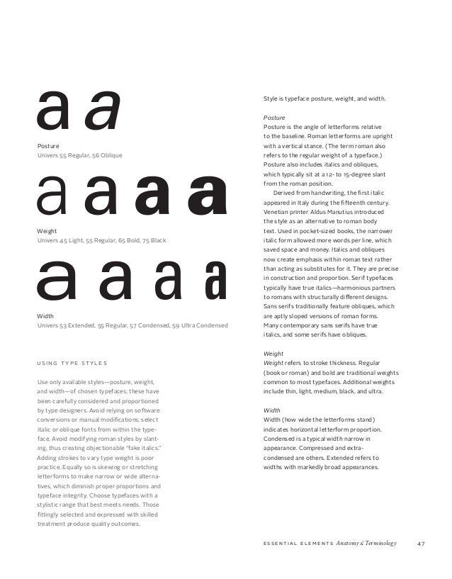 Typefaces Are Key Tools Of