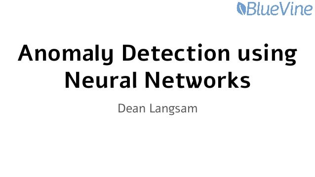 Anomaly Detection using Neural Networks with Pandas, Keras and Python