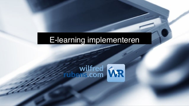 E-learning implementeren