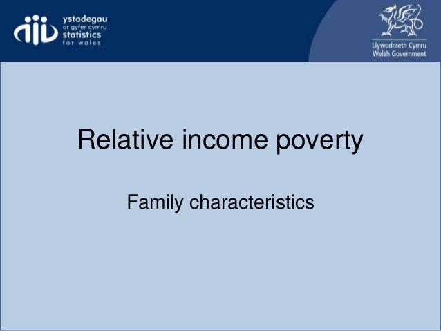Relative income poverty Family characteristics