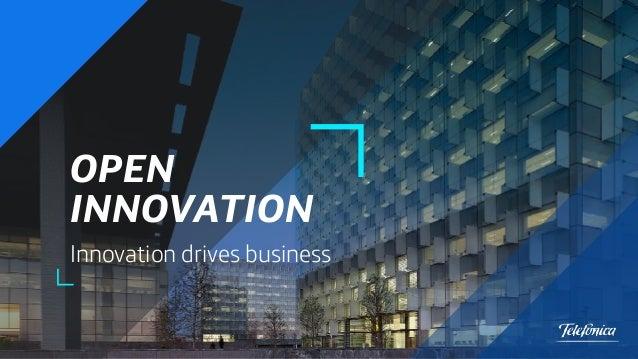 OPEN INNOVATION Innovation drives business 1