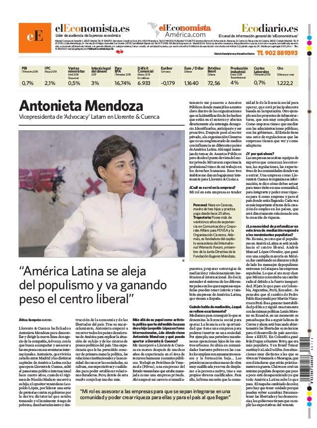 8437007260038 elEconomista.esLíder de audiencia de la prensa económica El canal de información general de 'elEconomista.es...