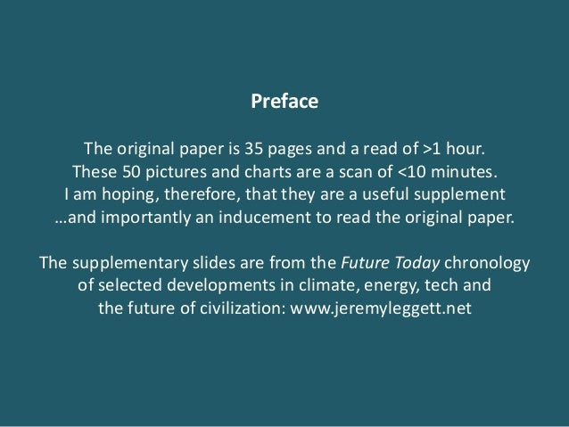 Preface The original paper is 35 pages and a read of >1 hour. These 50 pictures and charts are a scan of <10 minutes. I am...