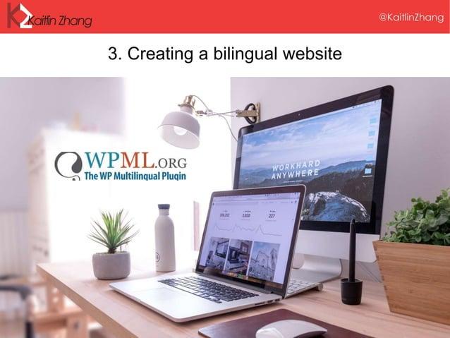 3. Creating a bilingual website