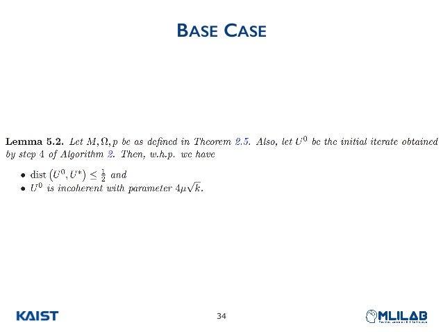 BASE CASE !34