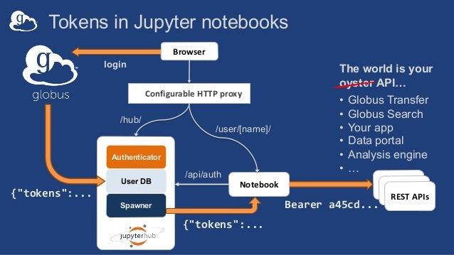 Jupyter + Globus: The Foundation for Interactive Data Science
