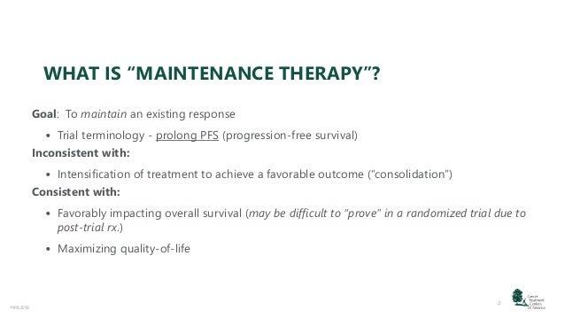 Ovarian Cancer Maintenance Therapies