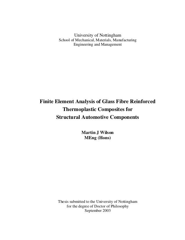 FEA methodology for Composites in Ls-Dyna