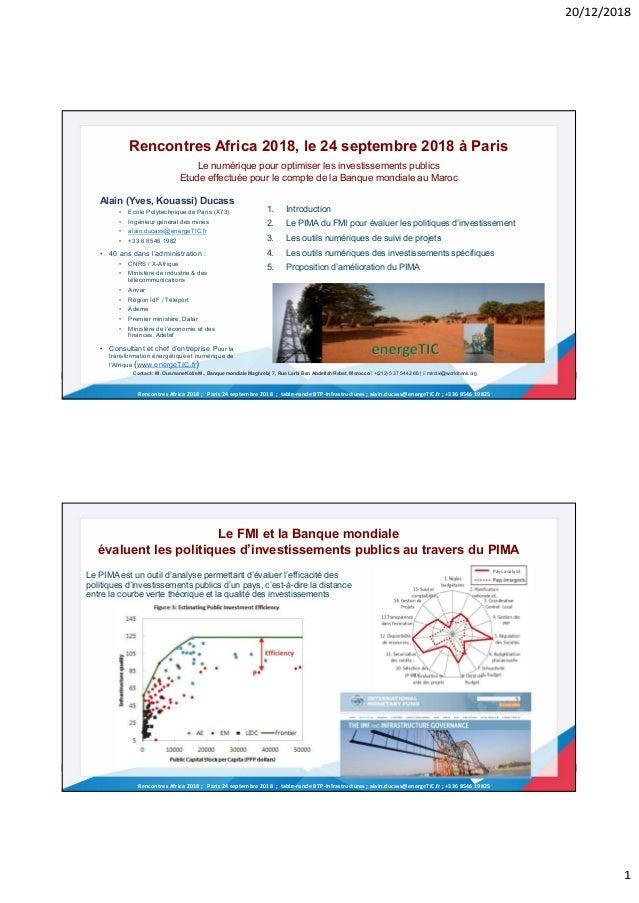 20/12/2018 1 Rencontres Africa 2018 ; Paris 24 septembre 2018 ; table-ronde BTP-Infrastructures ; alain.ducass@energeTIC.f...