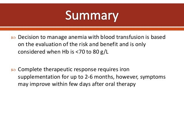 Evaluation and Treatment of Iron Deficiency Anemia: A Gastroenterological Perspective