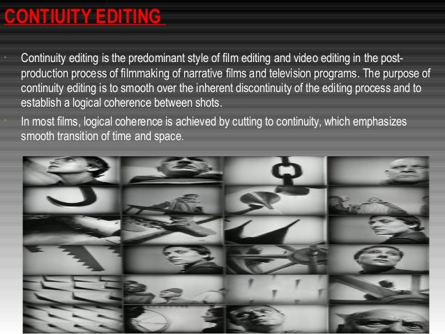 180 rules and continuity editing