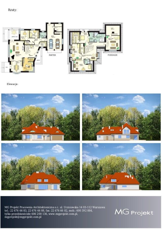 Projekt domu Rezydencja Slide 2