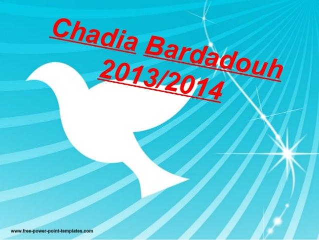 Chadia Bardadouh2013/2014