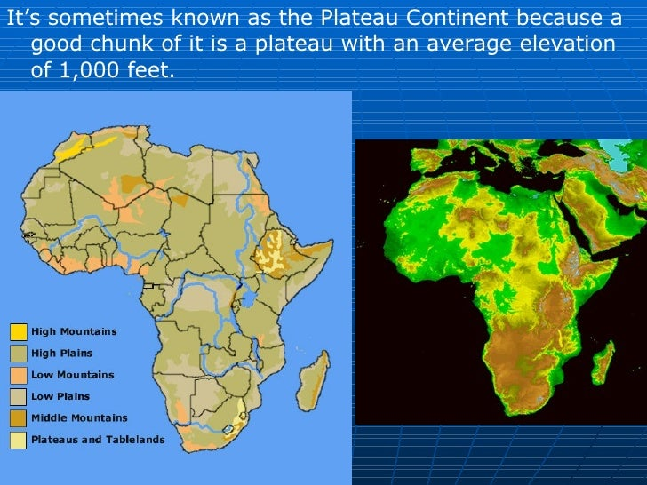 18.1 - Africa Landforms and Resources