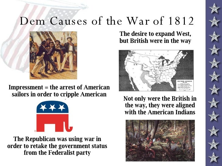essay on the war of 1812 America faced many changes after the war of 1812 in many aspects most changes were extremely positive and therefore the time after the war was labeled the, era of good feelings.
