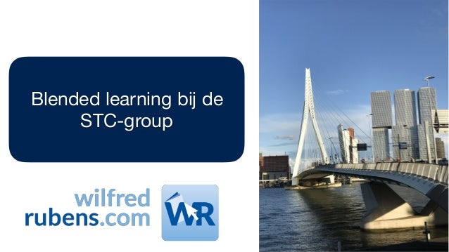Blended learning bij de STC-group
