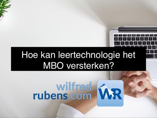 Hoe kan leertechnologie het MBO versterken?