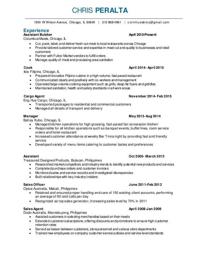 champ resume