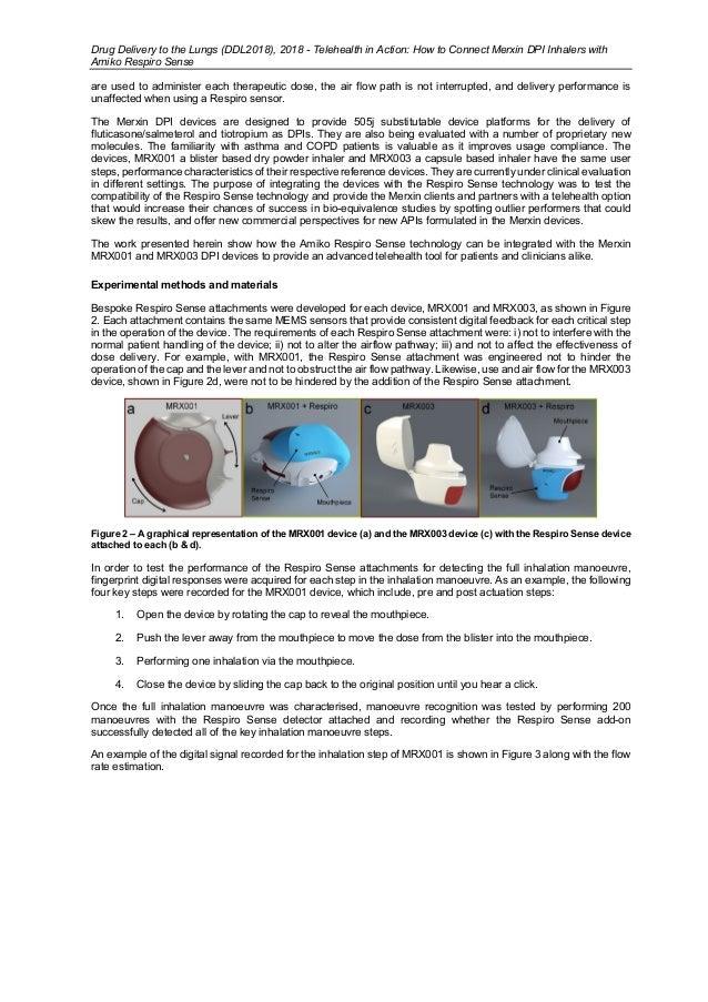 Merxin Amiko Digital Therapeutics DDL 2018 Inhaler Devices Slide 3
