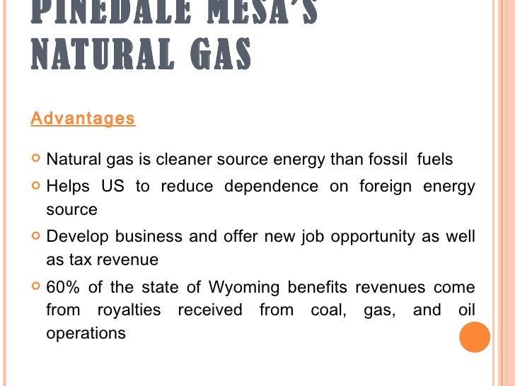 Advantages Of Natural Gas Vs Coal