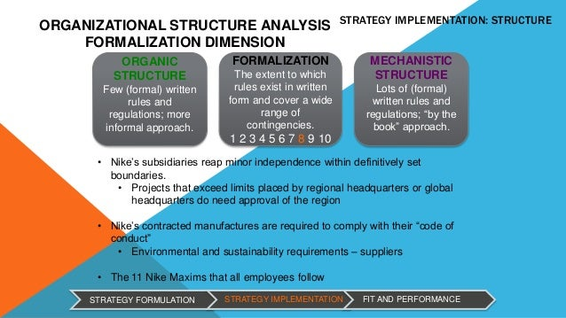 nike flat organizational structure The matrix organization  the principal need is for an organizational structure that can handle the great complexity of a multidisciplinary effort figure 3.