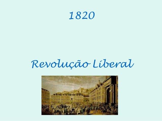 1820Revolução Liberal