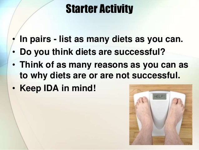 success and failure of dieting essay A short power ponit on the success and failure of dieting (including some resources i found here on psychexchange) view file aqa eating behaviour shared by laila.