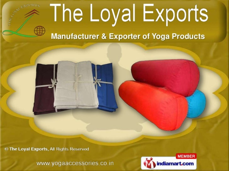 Manufacturer & Exporter of Yoga Products