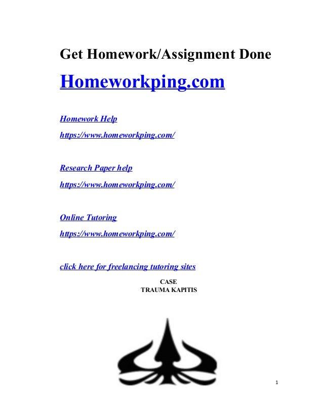 cks homework helpers
