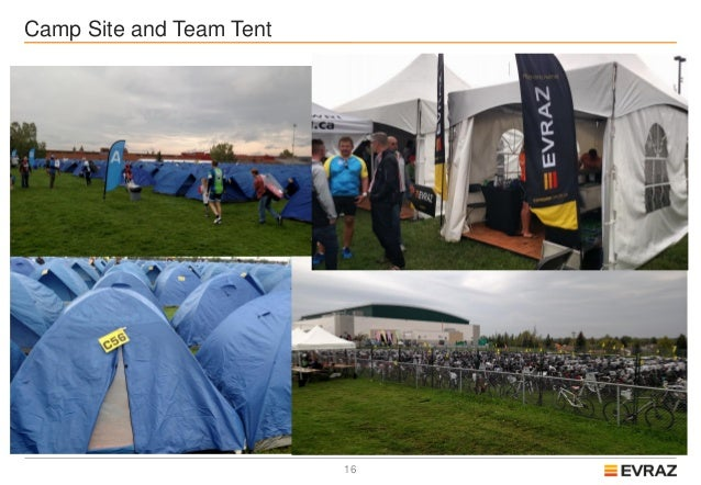 17 The Start of Day 2 for Team Evraz ... & Team Evraz Ride To Conquer Cancer Review For 2016