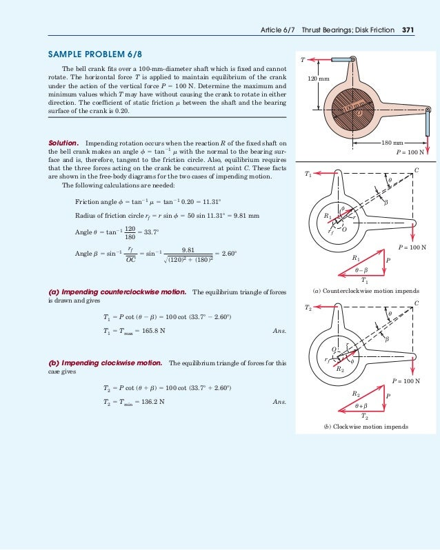 Example Physics Problems and Solutions