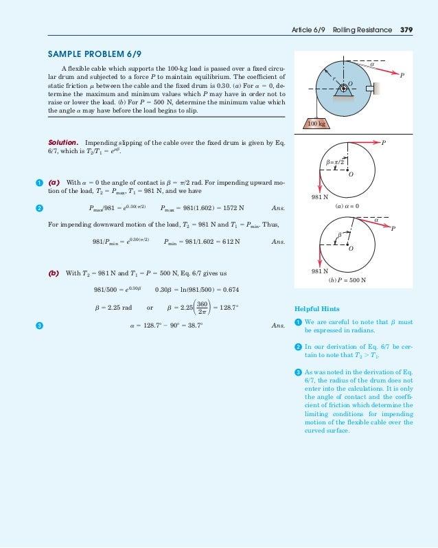 Friction Example Problem - Physics Homework Help