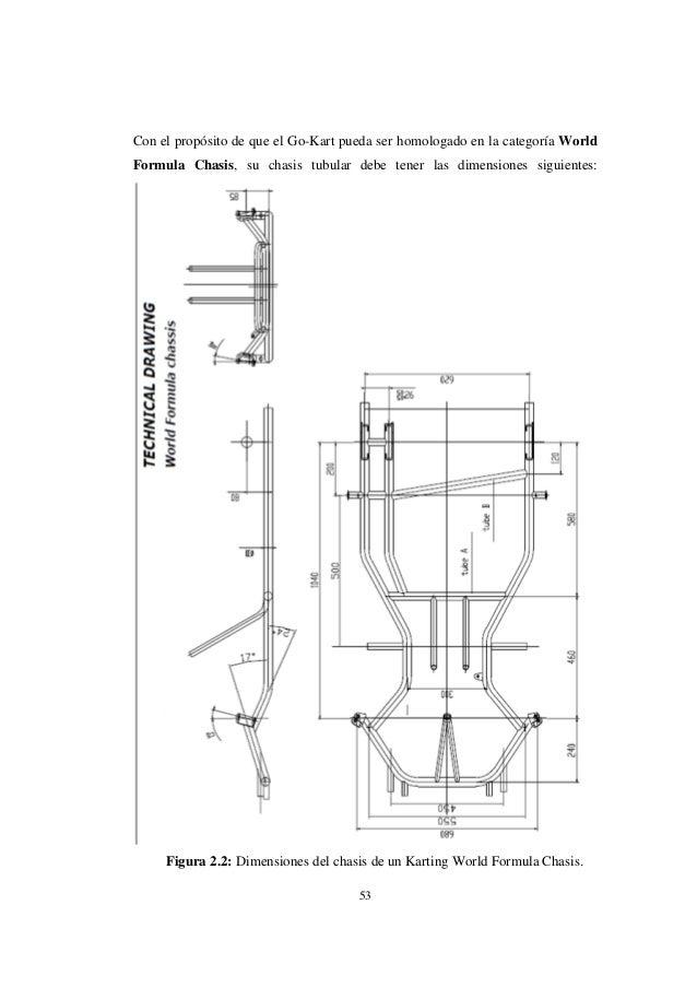 Perfecto Ir Dimensiones Del Marco Kart Viñeta - Ideas Personalizadas ...