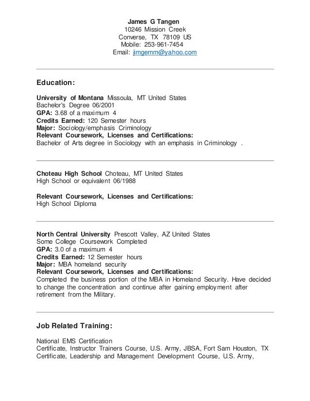Career Planning: Resume Writing Overview