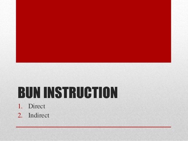 Computer System Architecture - BUN instruction Slide 2
