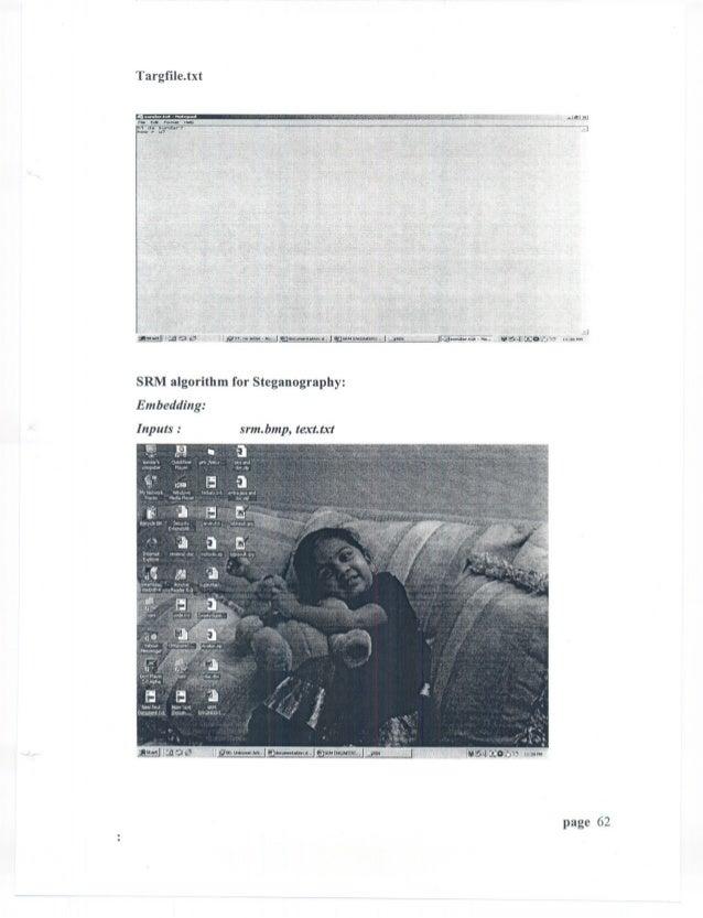 "Targfile.txt         ,.,.,""""   "".m...,   ,.,...       E«PorM8t.... h1 d~ sundar?.IhOW,.    u?SRM algorithm for Steganograp..."