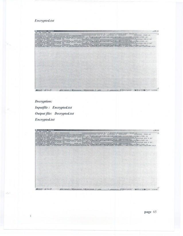 En crypted.txtDecryption:Inputfile:    Encrypted.txtOutput file: Decrypted.txtEncrypted.txt                               ...