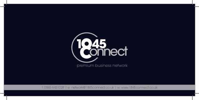 1845 connect presentation