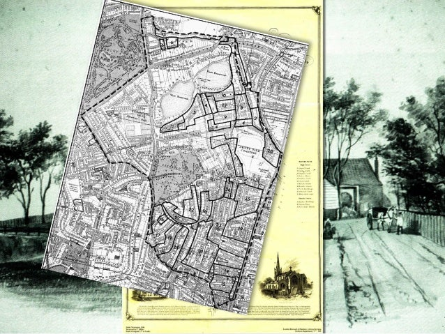 Before the building boom: Exploring the 1846 map of Stoke Newington Slide 3