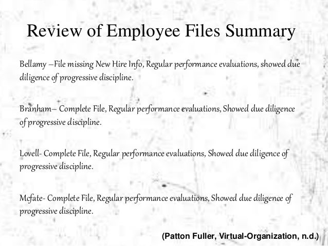 ethical issues at patton fuller With some common sense and a bit of analysis, employees can resolve common ethical workplace dilemmas without losing their jobs or bringing harm to their employer.